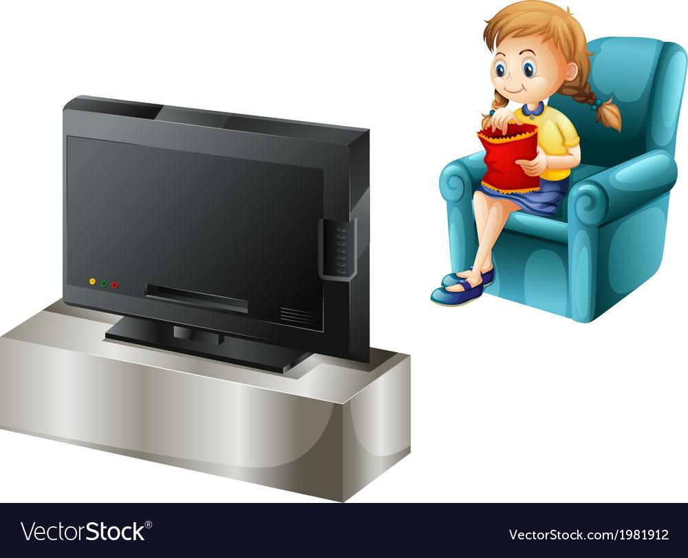 Картинка смотреть телевизор для детей