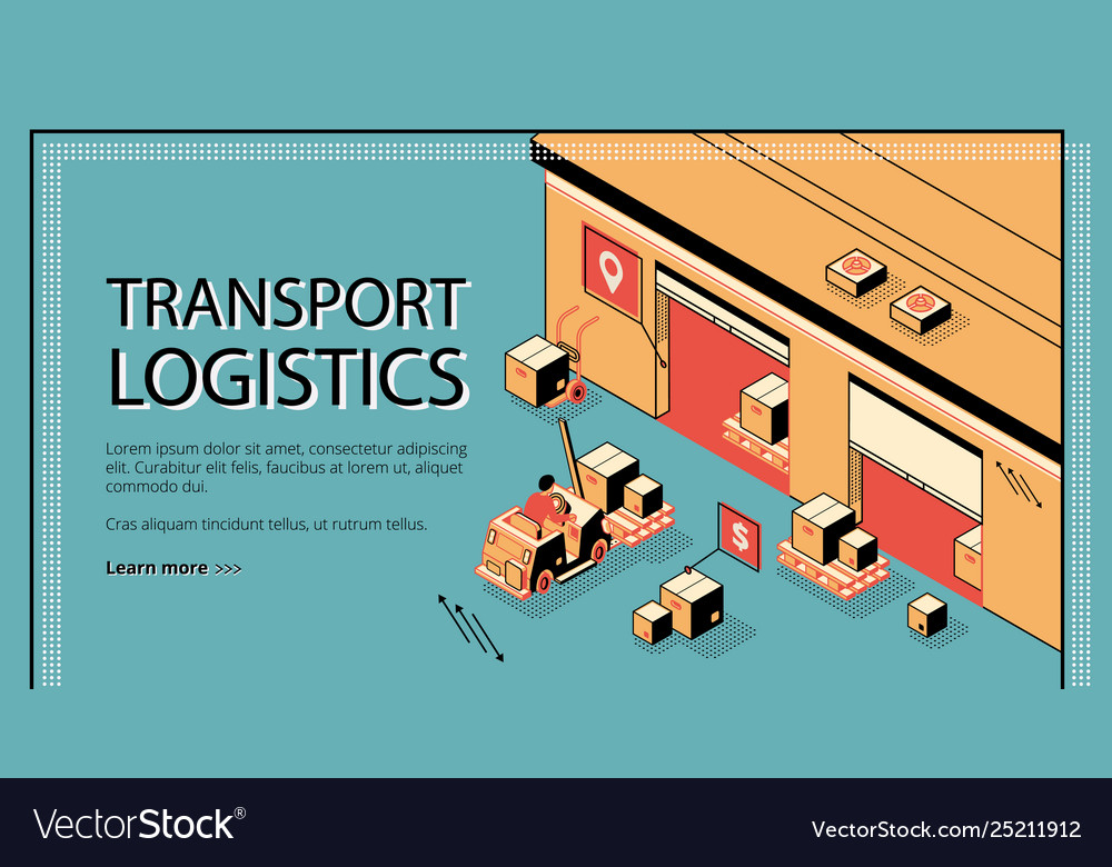 Business delivery logistics company website