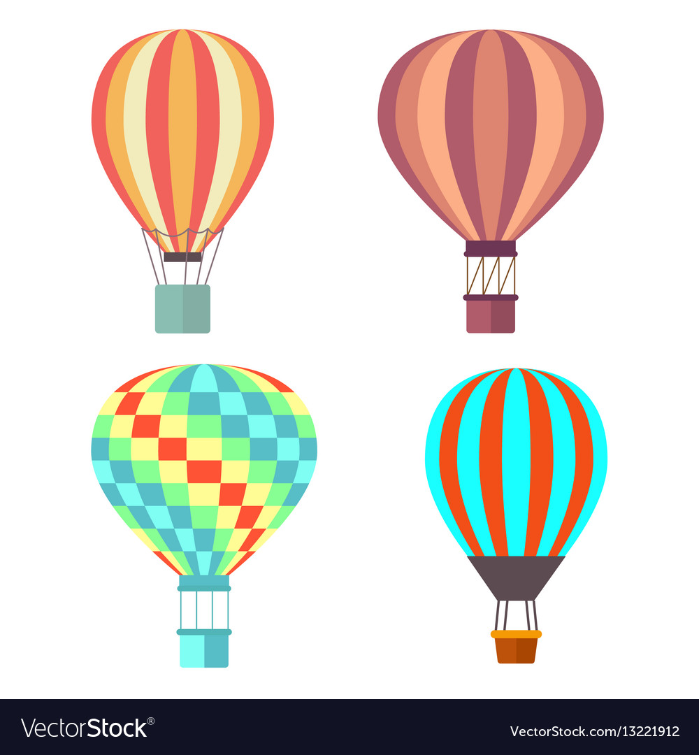 Set classical balloons to travel by air