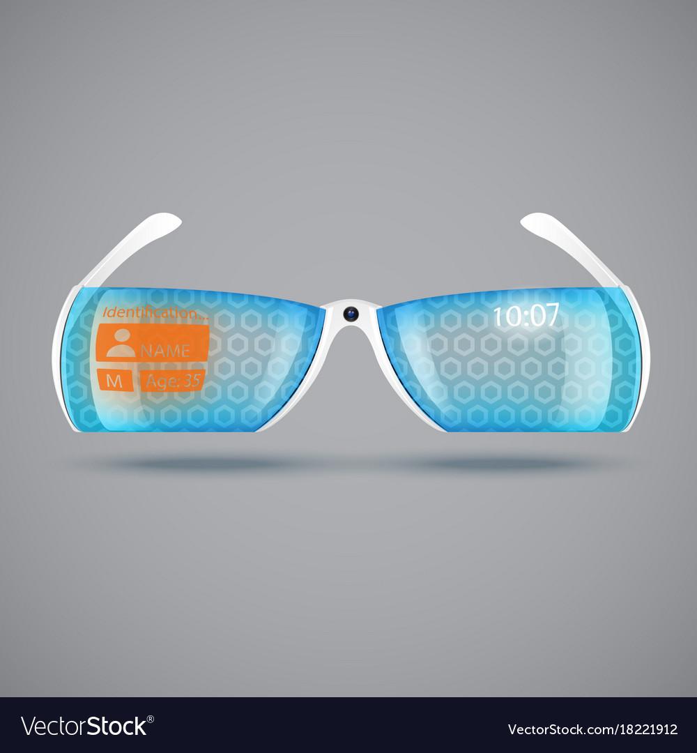 Virtual reality glasses