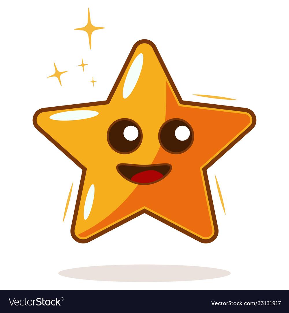 Cartoon star icon