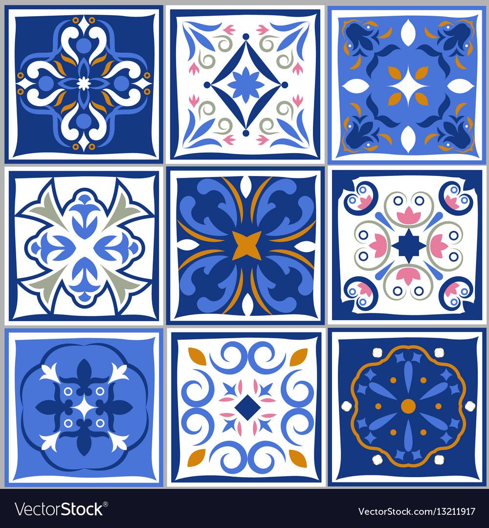 Ceramic Tiles Vintage Patterns Spanish