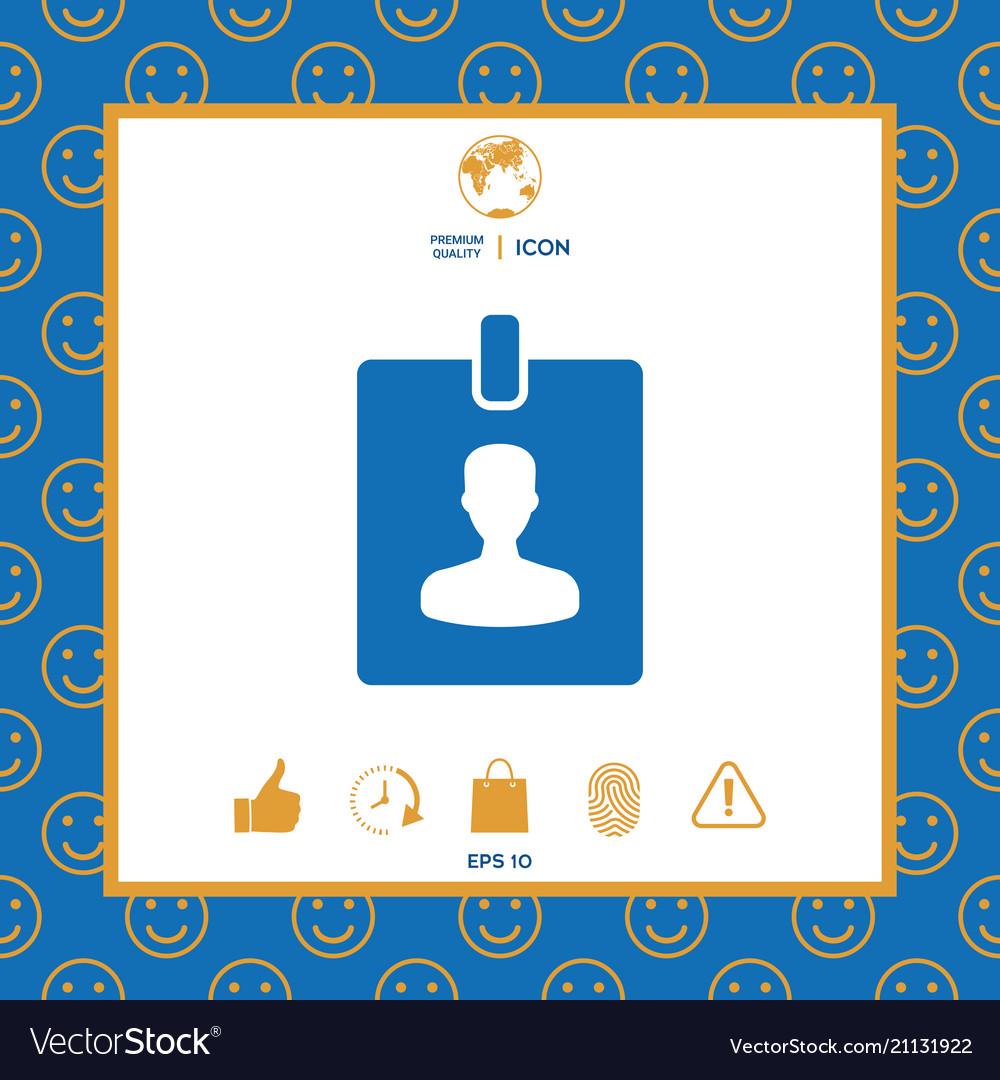 Badge symbol icon