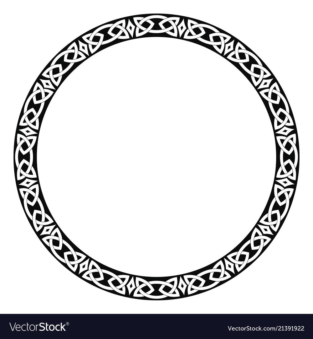 Celtic national ornament