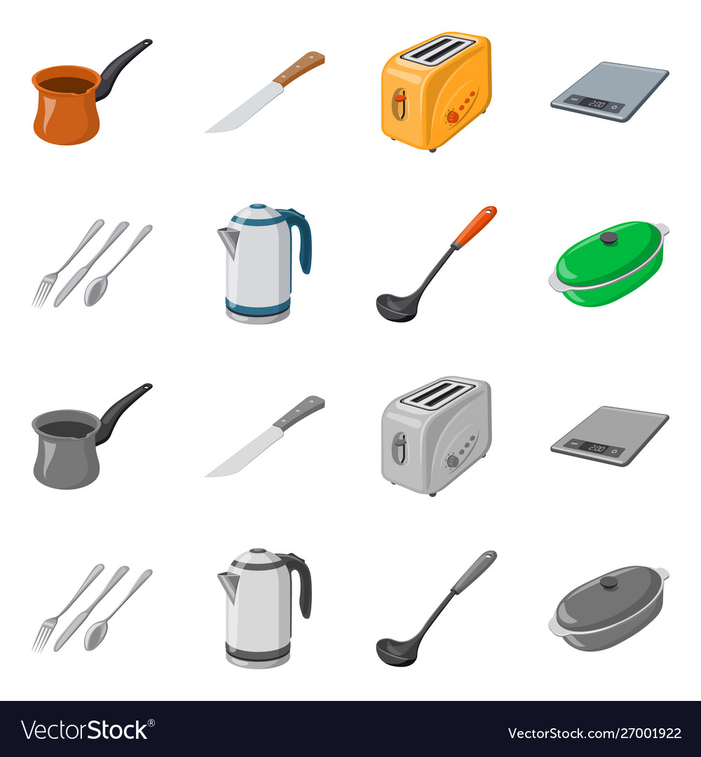 Design Kitchen And Cook Logo Set Of