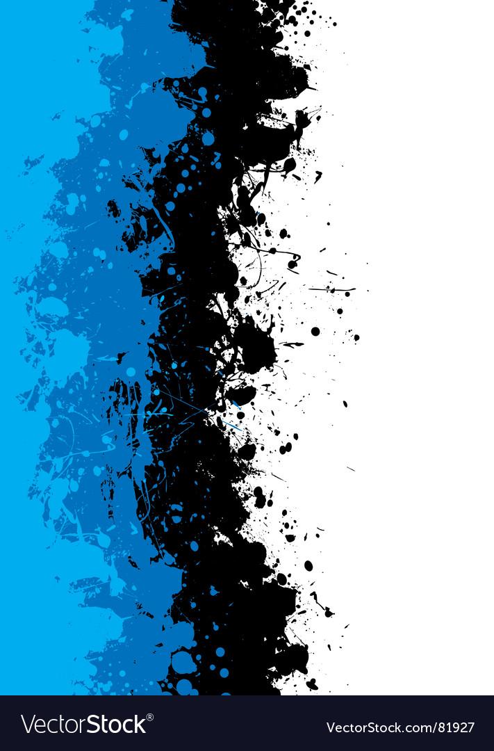 Grunge splat background