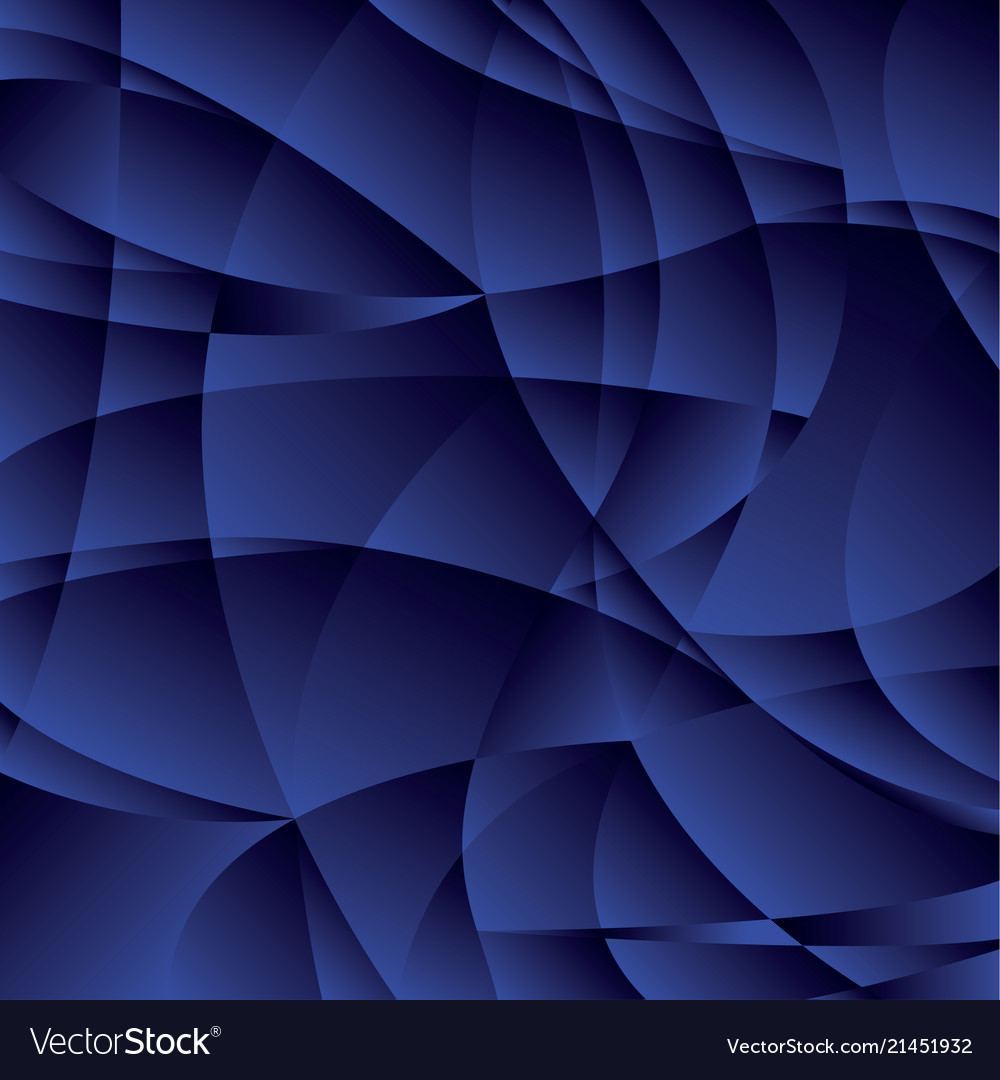 Concept geometric night blue background