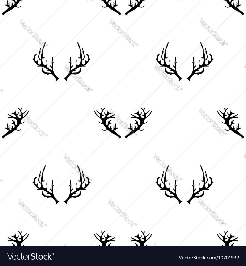 Different Horns Seamless Pattern