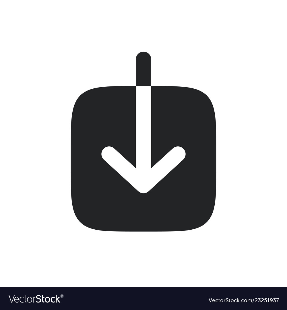 Download icon download symbol pictogram isolated