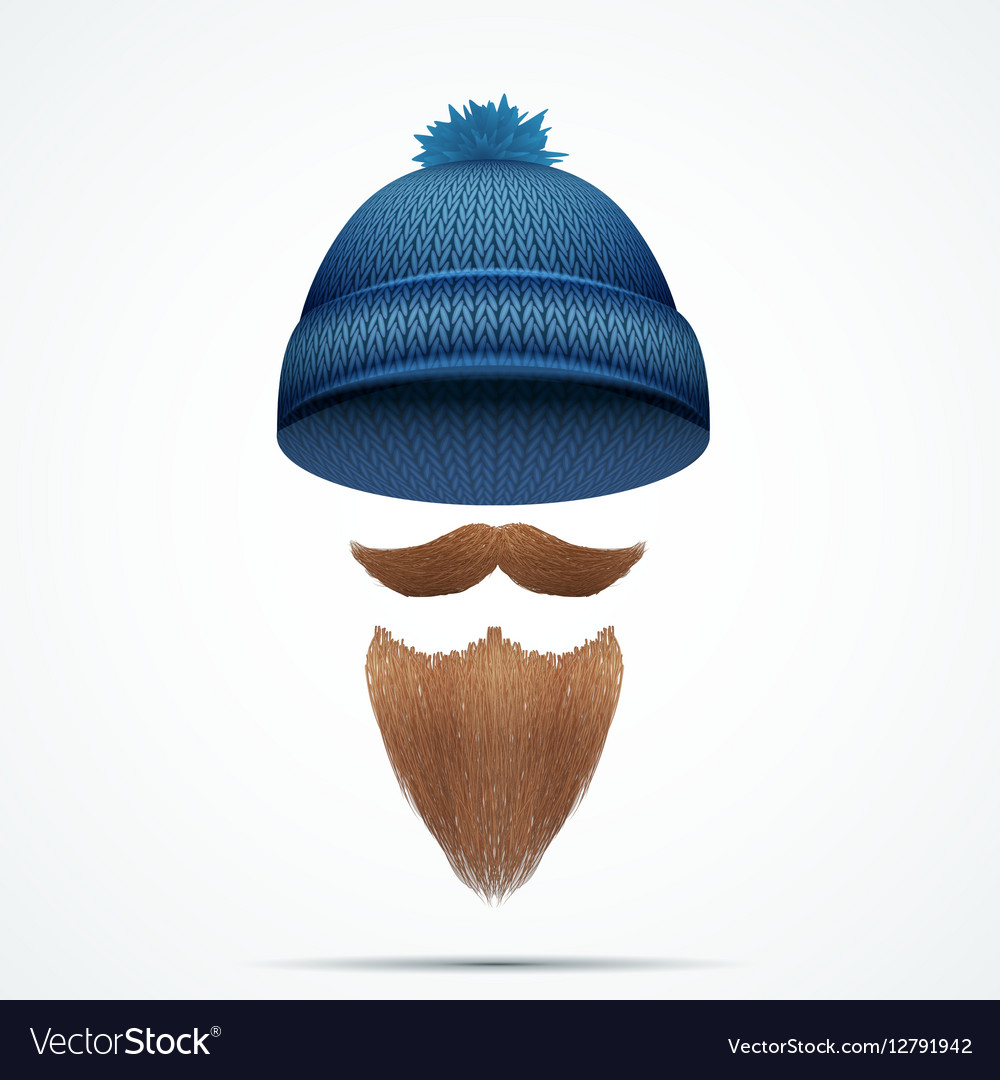 Symbol of Hipster and Lamberjack vector image