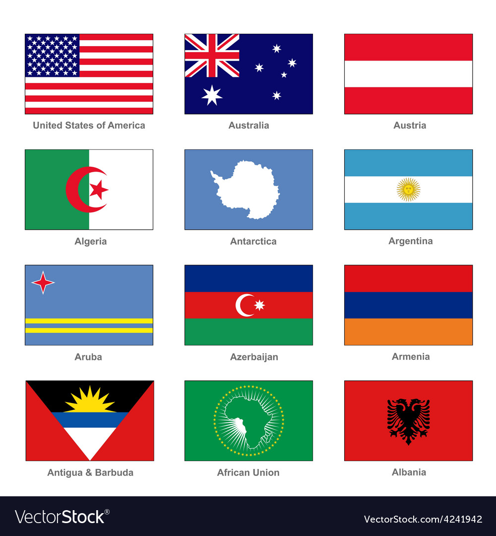 Letter Countries Names