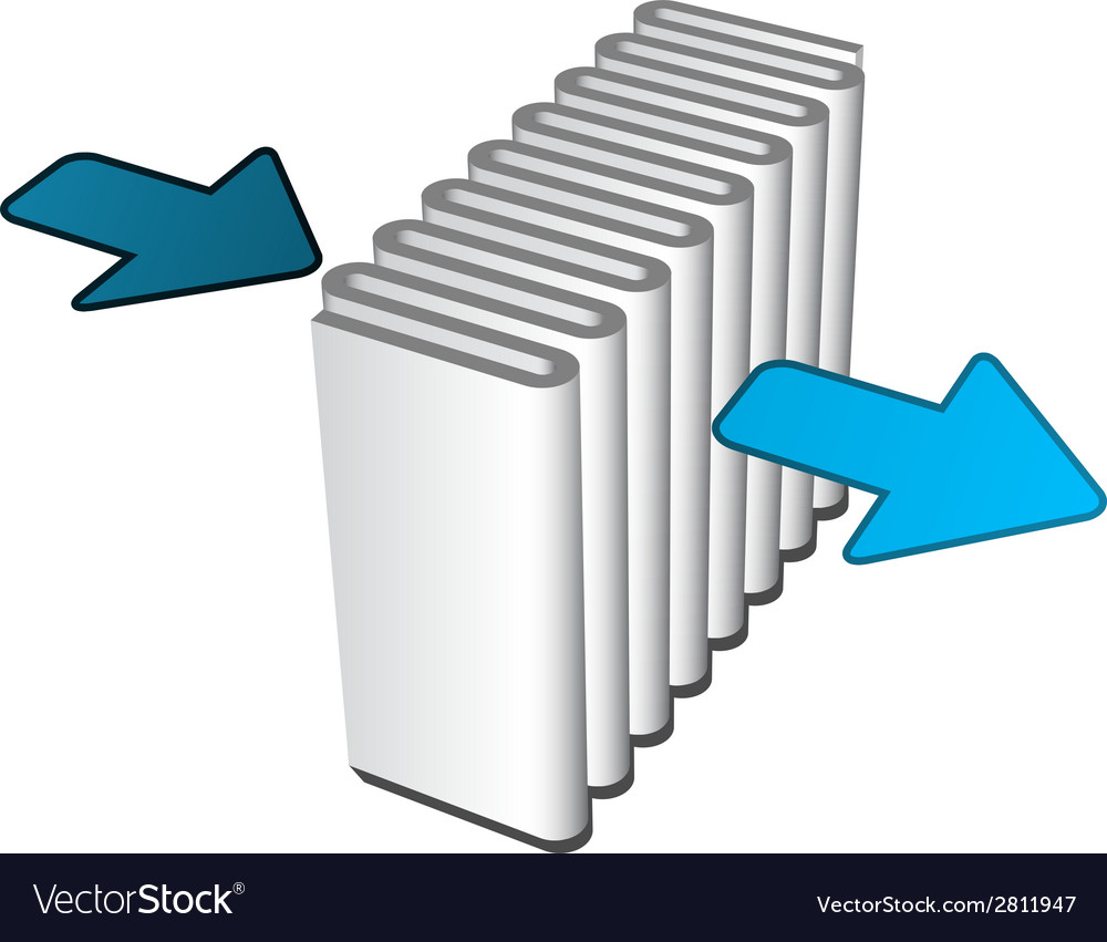 Air filter effect icon