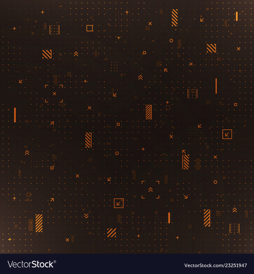 Digital technology background abstract data vector