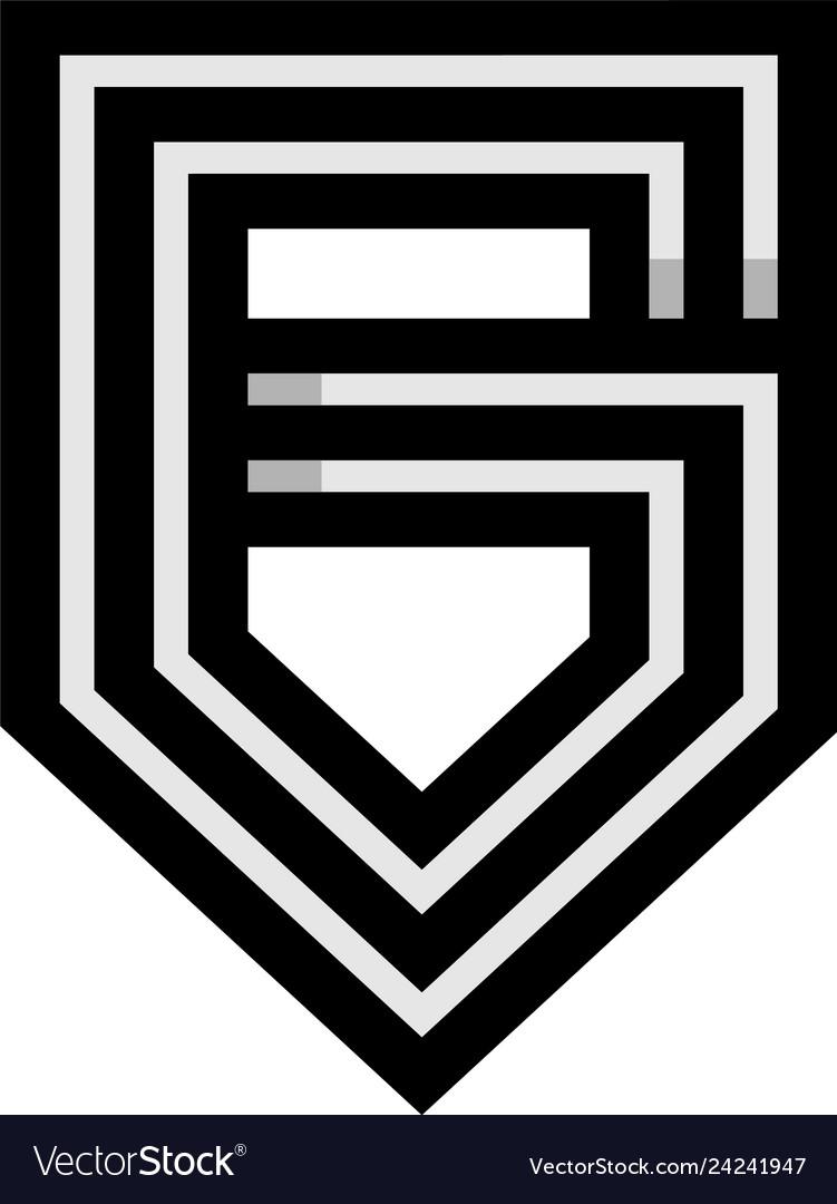 Initial g monogram logo