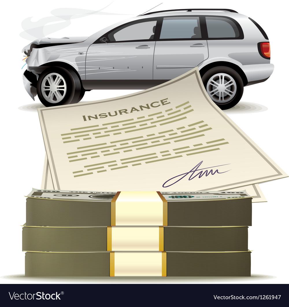 Money for the broken car