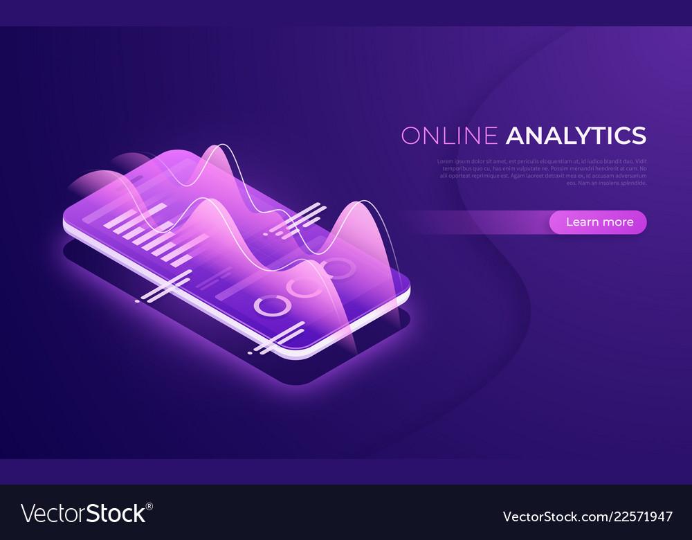 Online analytics data analysis financial