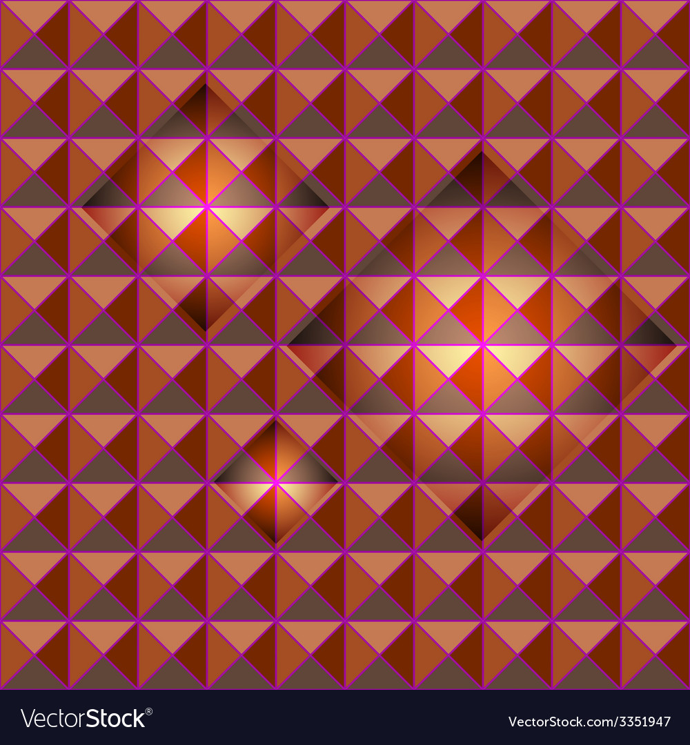 Orange studs seamless texture with light glow