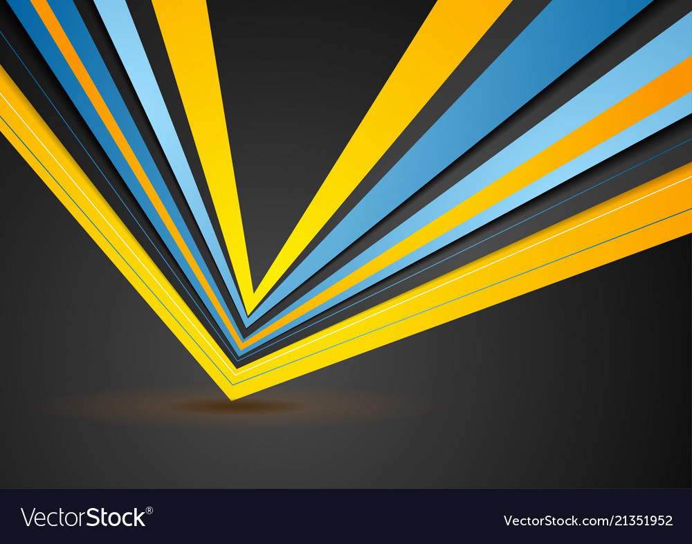 Abstract stripes corporate geometric background