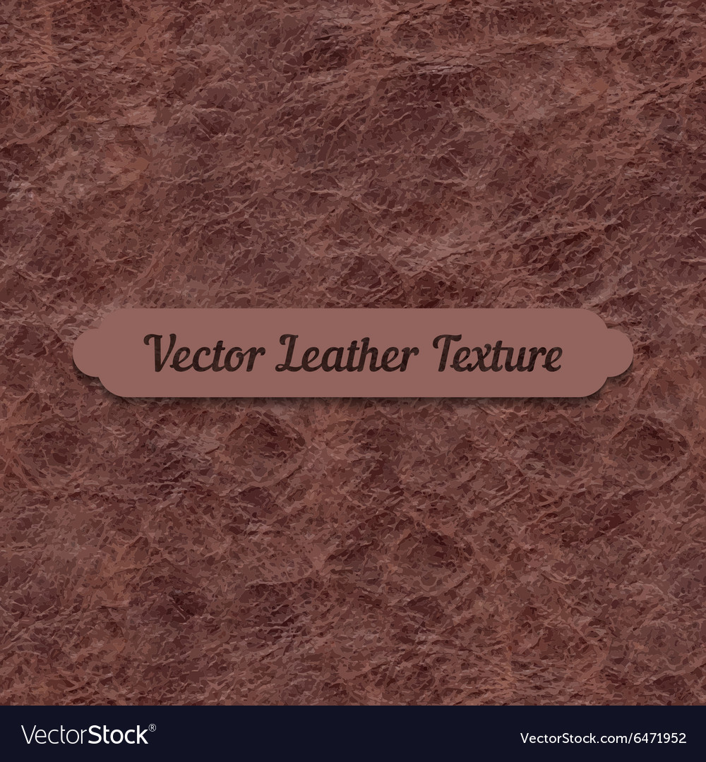 Brown crumpled leather texture
