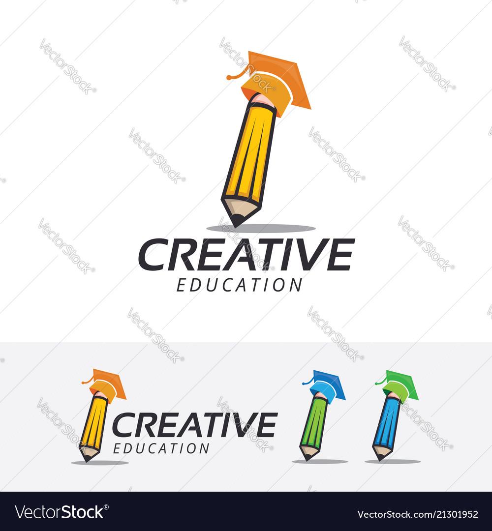 Creative academy logo design