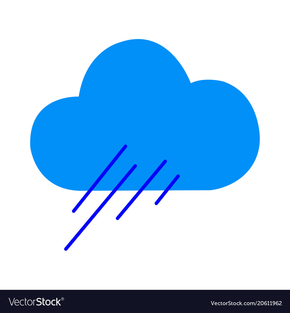 Abstract weather symbol