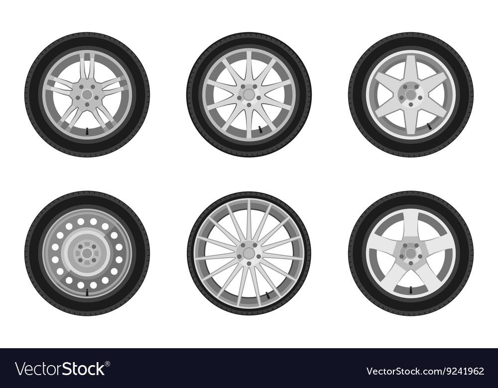 Auto wheels set