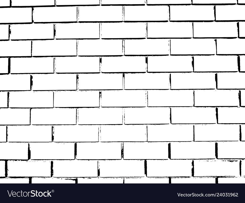 Brick wall grunge background distress overlay