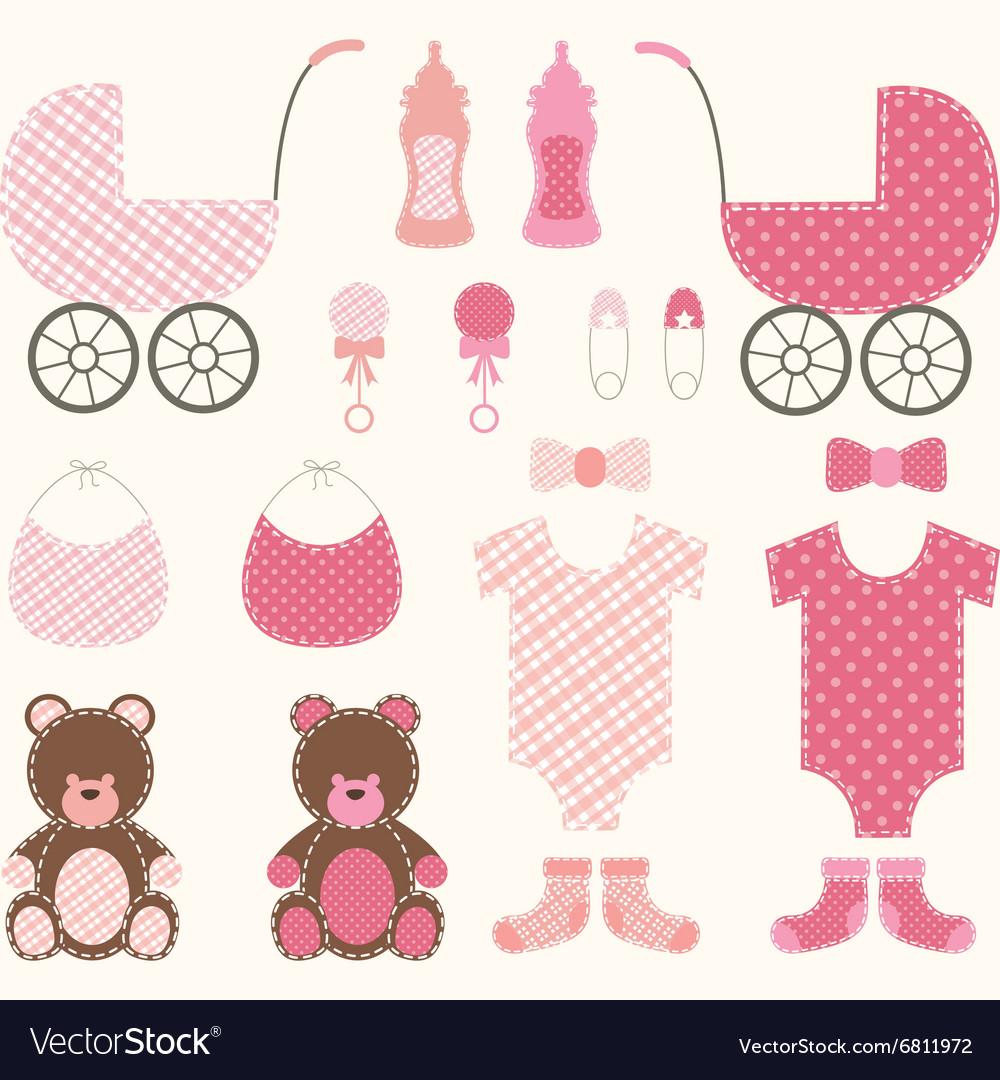 Baby Shower Girl Set