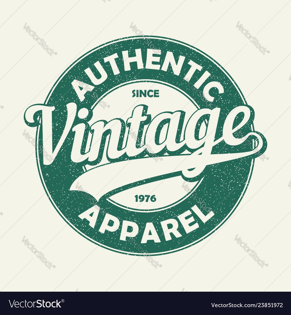 Vintage auth t-shirt