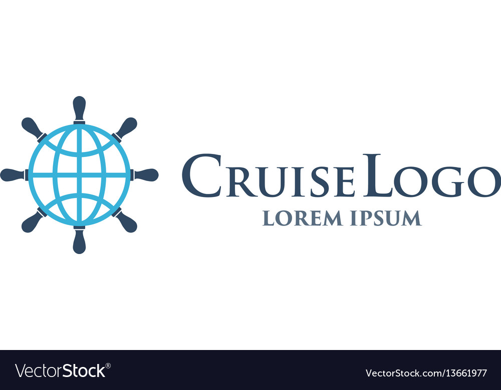Isolated helm logo design template with vector image