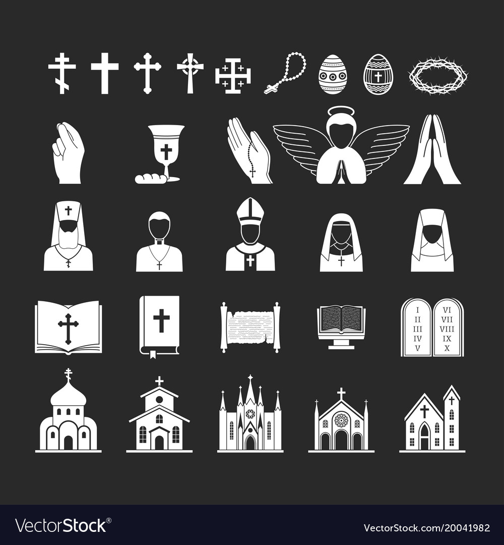 Christianity religion religionism flat