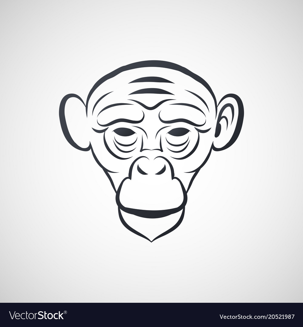 Ape logo icon design