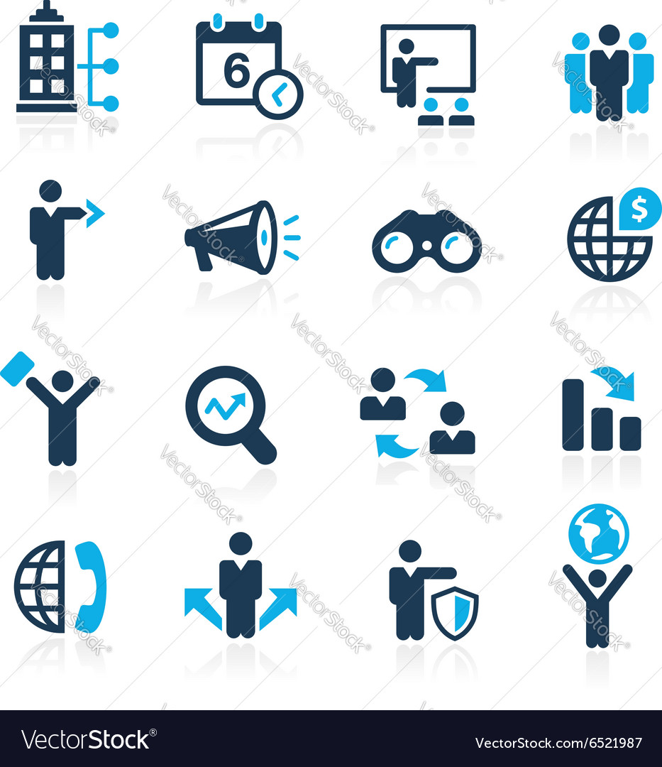 Business Opportunities Azure vector image