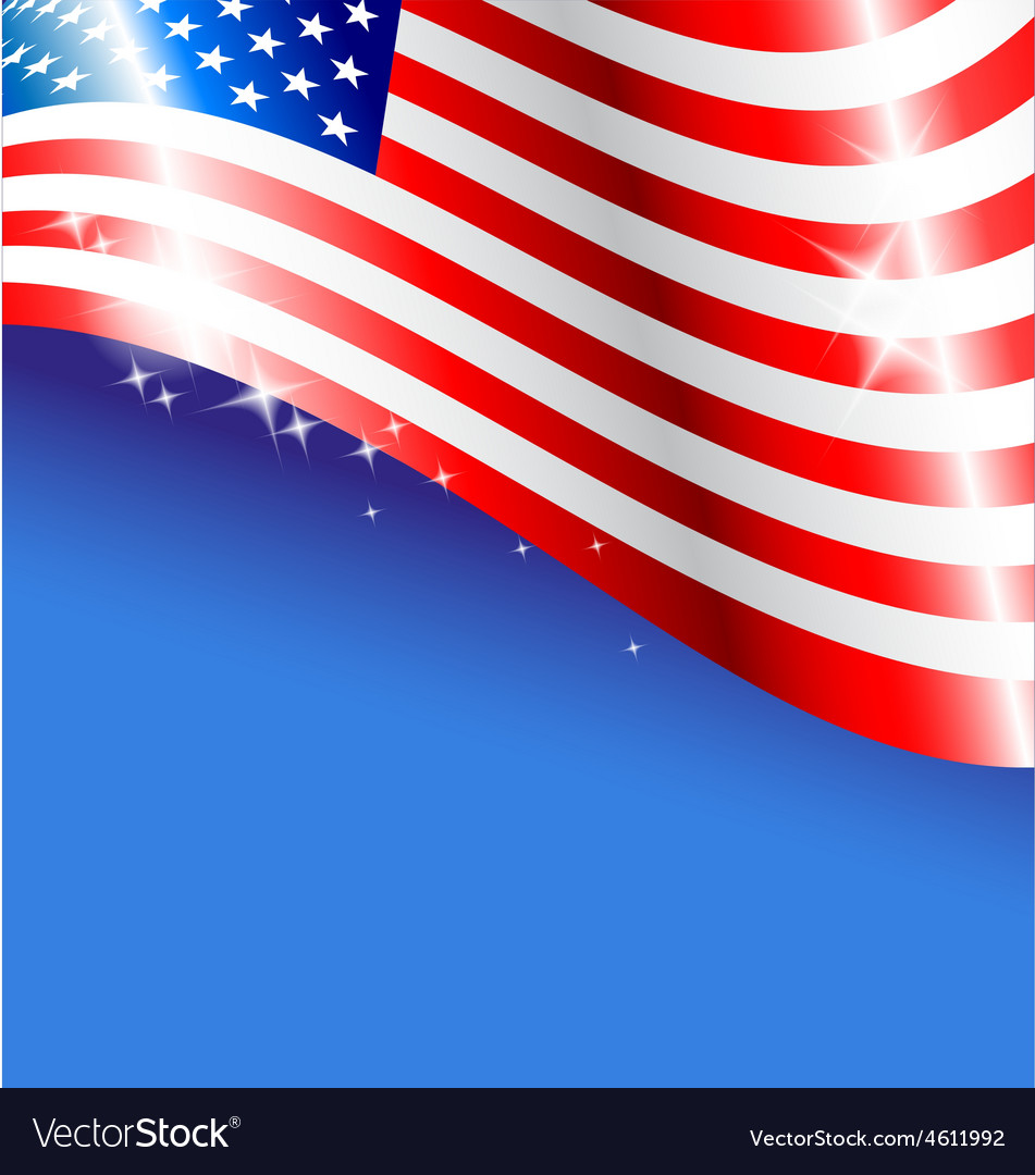 Abstract American flag background for Independence