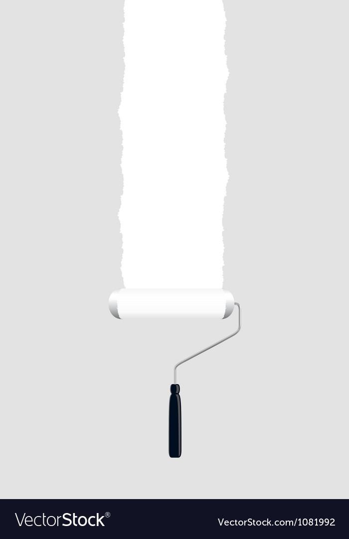 Paint roller white