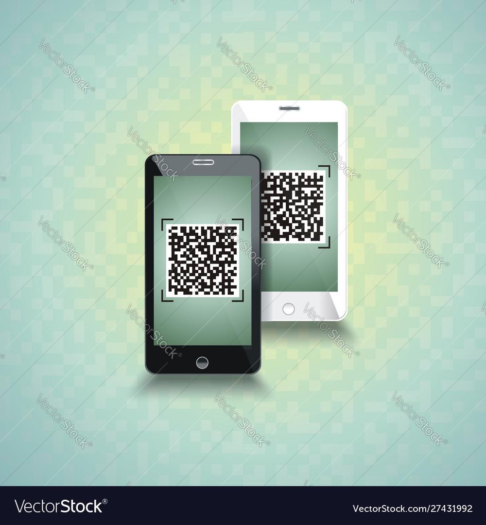 Qr-code scanning phones