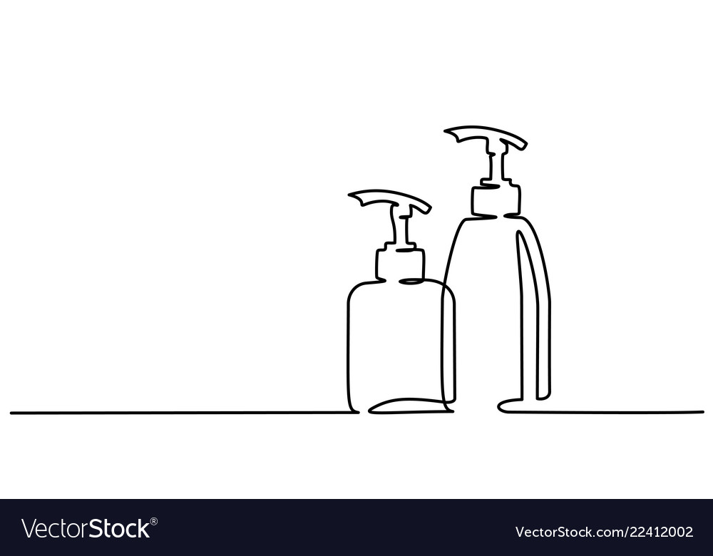 One Line Drawing Bottle Vector Images 62