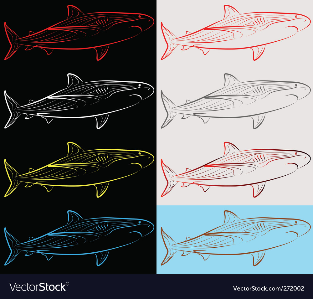 Sharks set collection