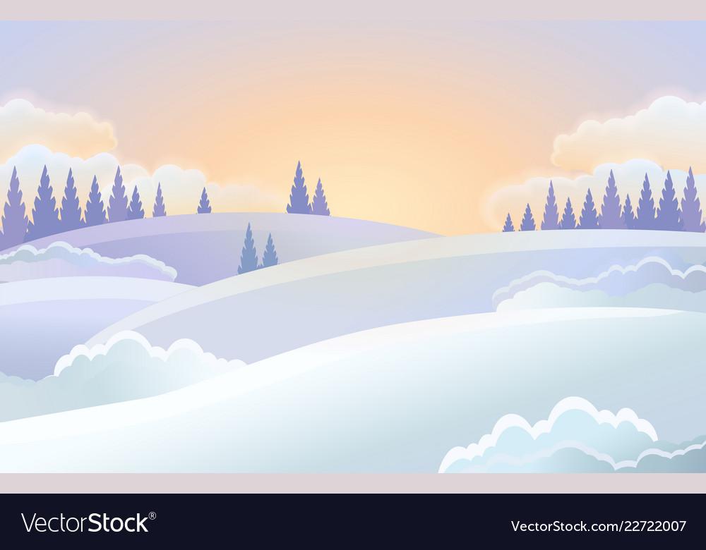 Christmas holiday horizontal background