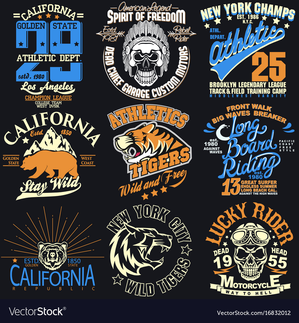 New york t-shirt graphics