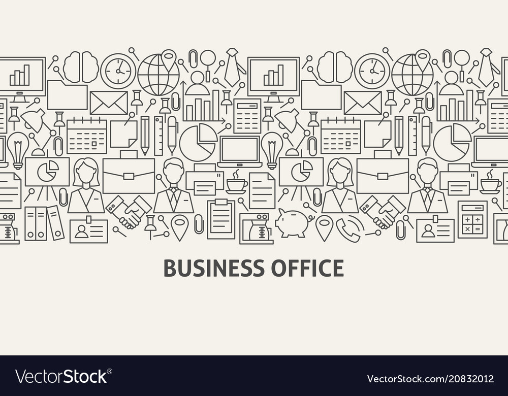 Office banner concept
