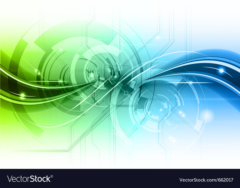 Abstract background with the wave