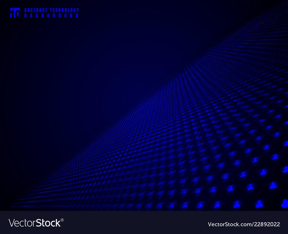 Abstract technology futuristic data visualization