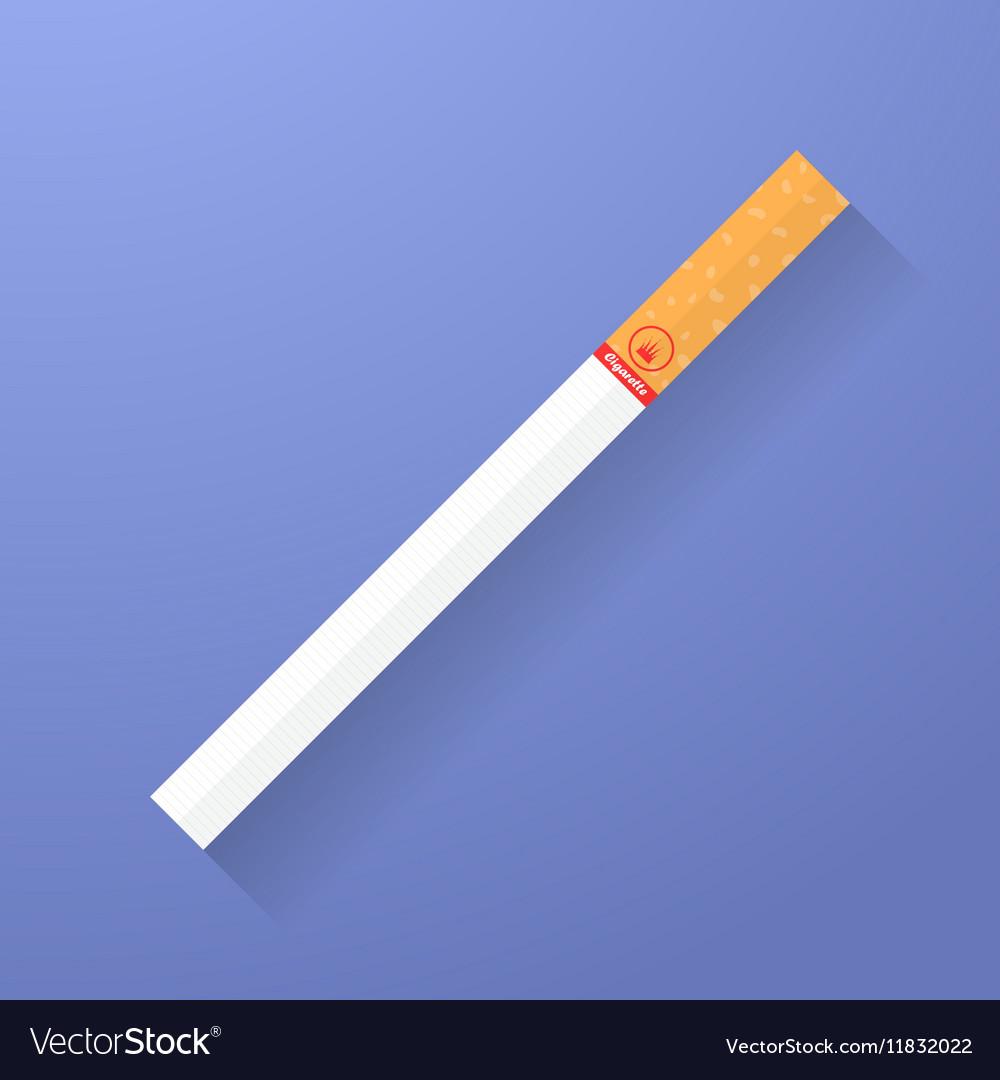 Icon of cigarette Smoking symbol vector image