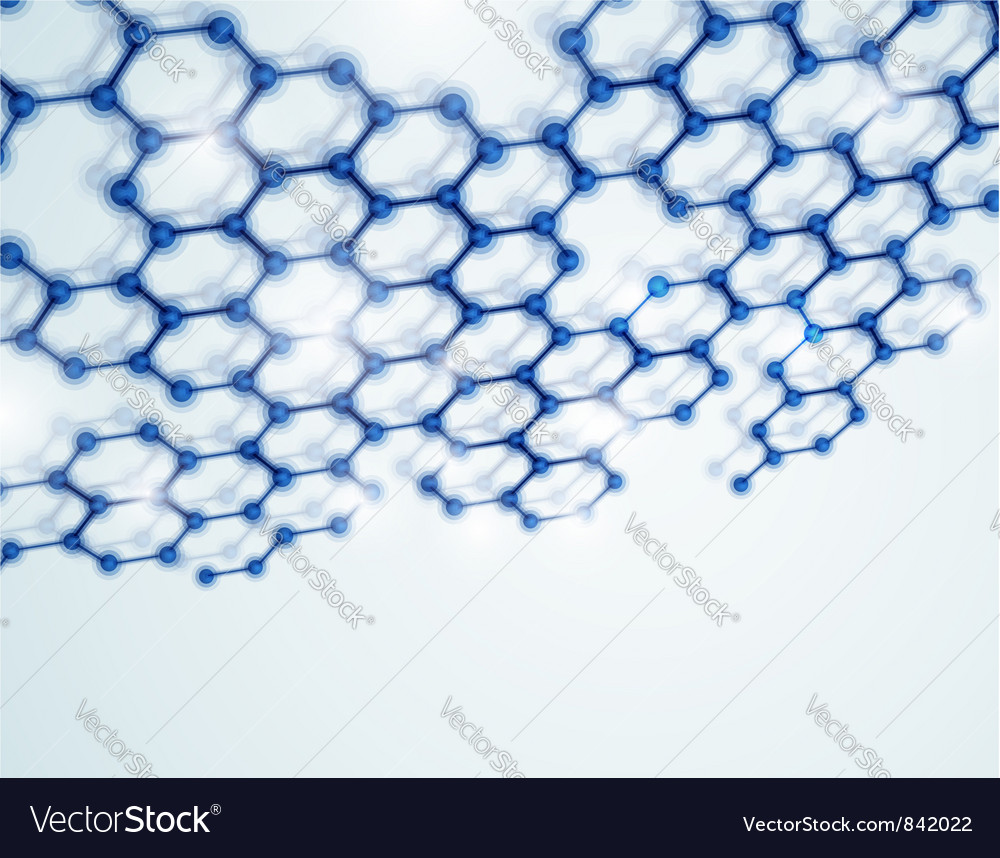 Molecular background vector