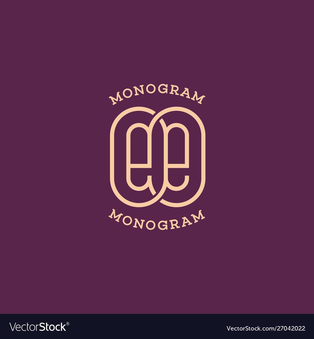 Monogram ee