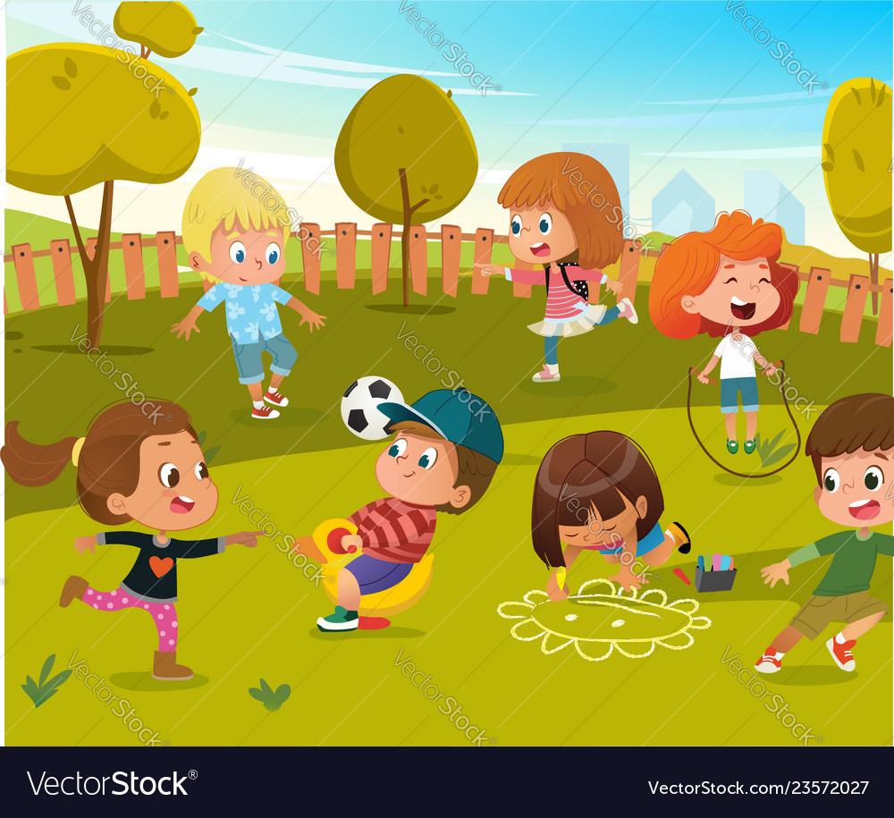Baplay kindergarten playground