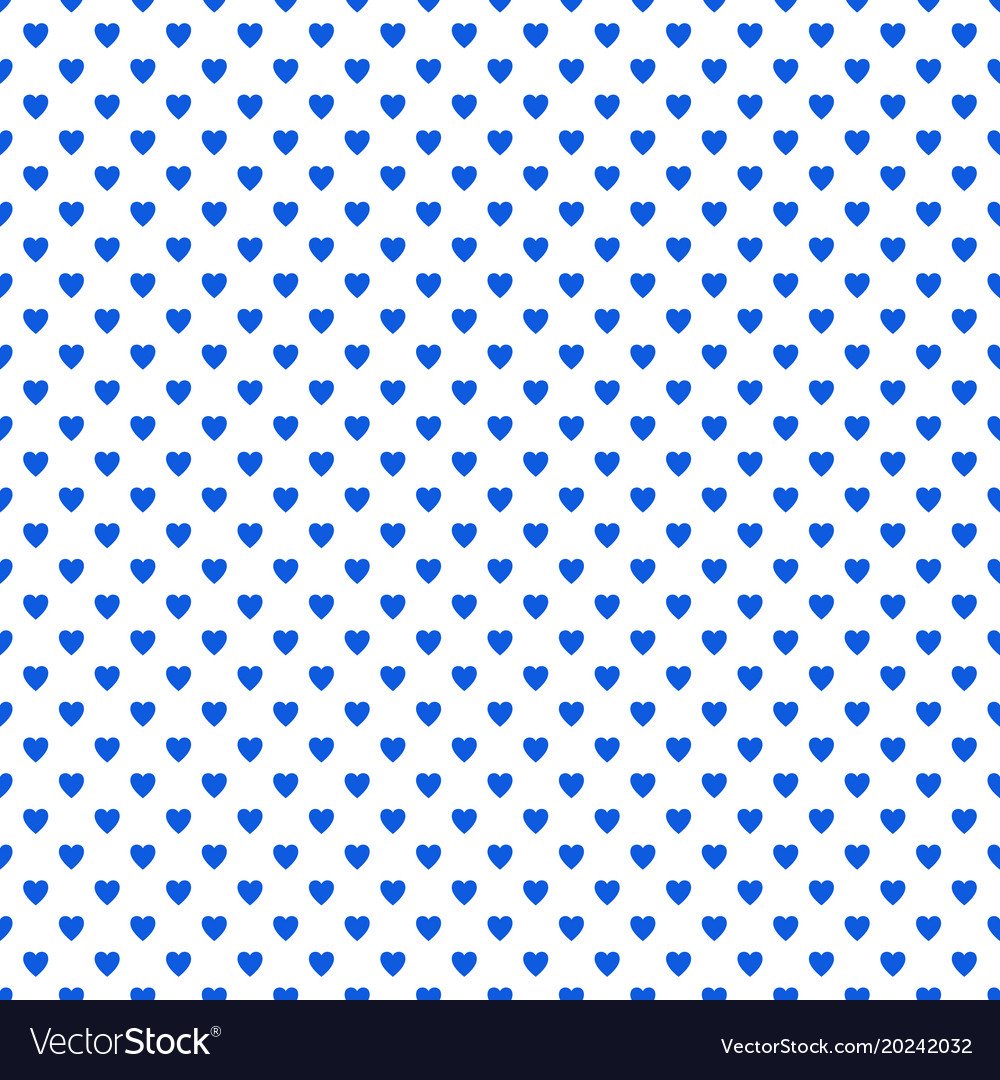 Repeating heart background pattern - valentines