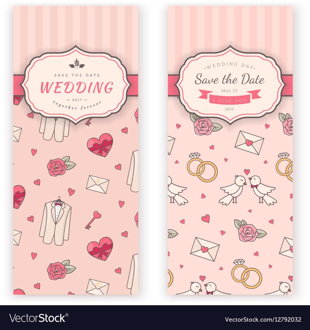 Wedding Banner Template Vector Image