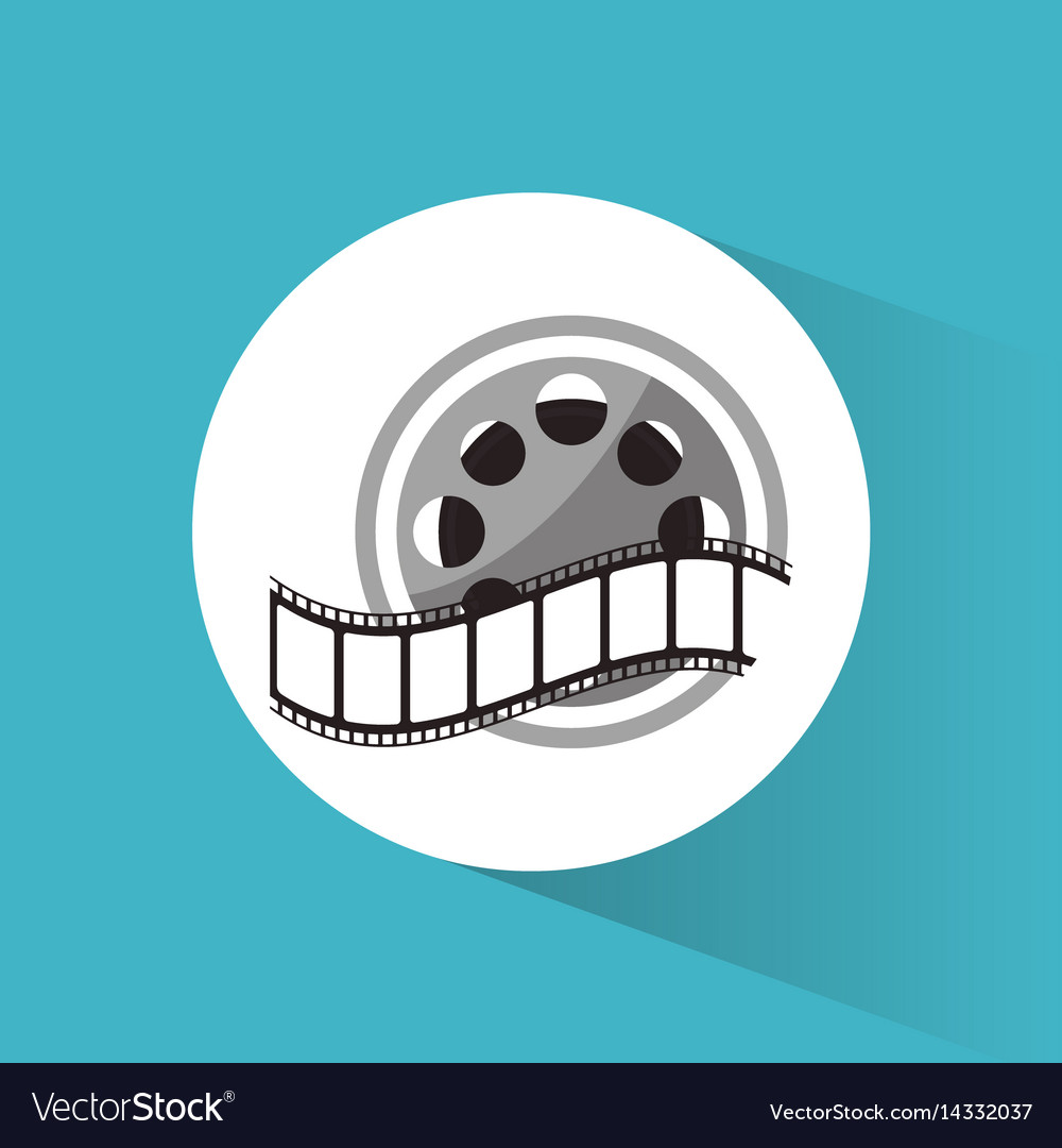 Cinema reel film strip movie